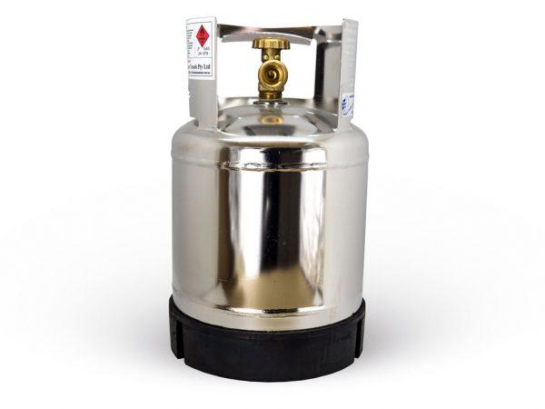 3.4KG Stainless Steel Marine Grade Gas Bottle