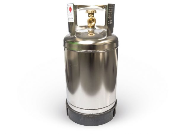 4.5KG Stainless Steel Marine Grade Gas Bottle