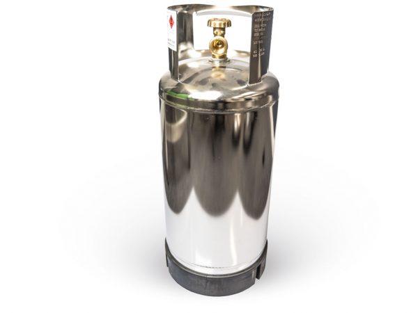 5.8KG Stainless Steel Marine Grade Gas Bottle